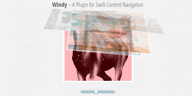 Windy - SWIFT CONTENT NAVIGATION