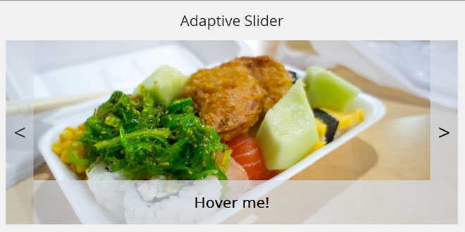Adaptive Slider jQuery Plugin