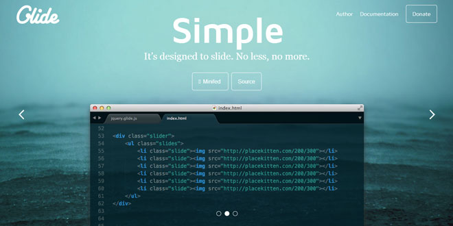 Glide.js - Responsive and touch-friendly jQuery slider