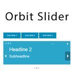 Orbit - An easy, powerful, responsive image slider