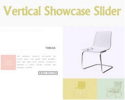 Vertical Showcase Slider