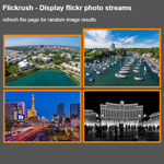 Flickrush - Display flickr photo streams