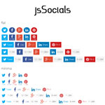 jsSocials - Social Network Sharing Plugin