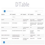 DTable – Data Table