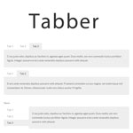 Tabber  - Adding simple tabbed interfaces