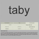 Taby - CSS3 Nested Tab Menu Plugin