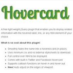 Hovercard