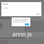 anno.js - Interactive step-by-step guides for web apps