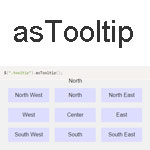 asTooltip - The powerful jQuery plugin that creates asTooltip
