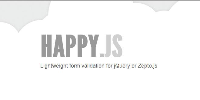 Js Tutorial - Happy js - Lightweight form validation