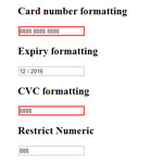 jQuery Payment - Building credit card forms