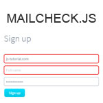 Mailcheck.js - Reduce user-misspelled email addresses
