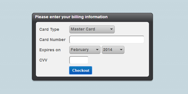 Smart Validate - jQuery credit card validation plugin