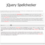 jQuery Spellchecker - Check the spelling of text